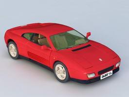 1992 Ferrari 348 3d model