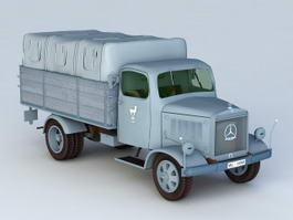 Mercedes-Benz L3000 Truck 3d model