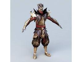 Medieval Assassin Armor 3d model