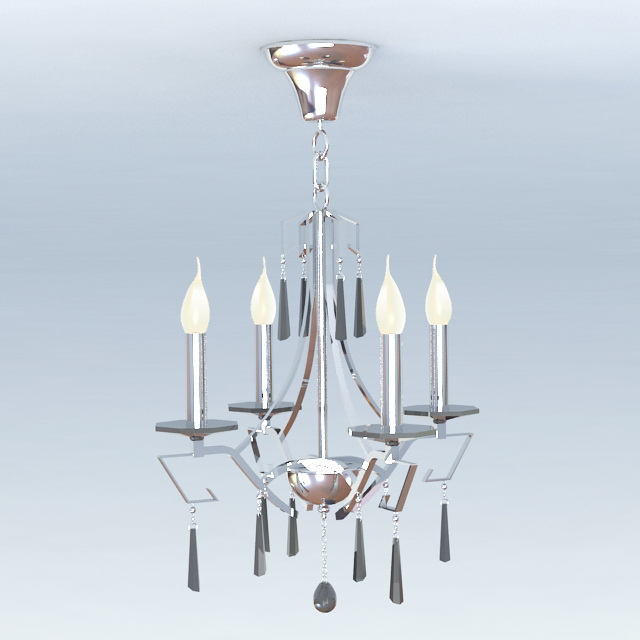 chandelier 3d model free download - cadnav.com