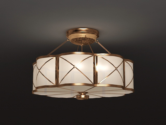 chinese style lighting. Chinese Style Ceiling Lamp 3d Model Lighting N