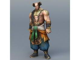 Villain Warrior 3d model