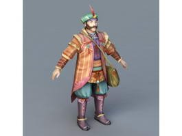 Ancient Persian Merchant 3d model