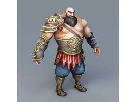 Strong Warrior 3d model