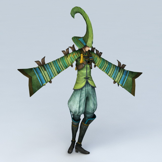 Green Joker 3d model