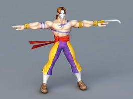 Street Fighter Vega 3d model