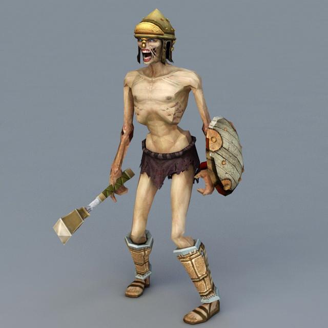 Mummy Warrior 3d model