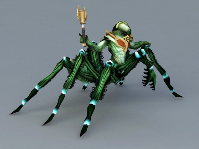 Scary Spider Monster 3d model