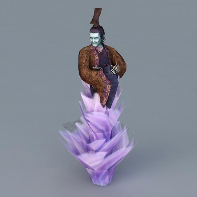 Evil Demon Spirit 3d model