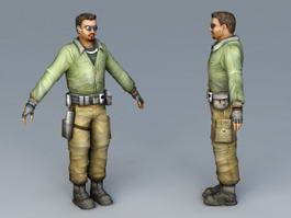 Spy Man 3d model