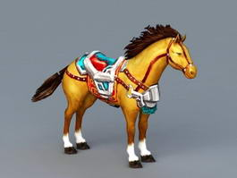 Mount Horse 3d model