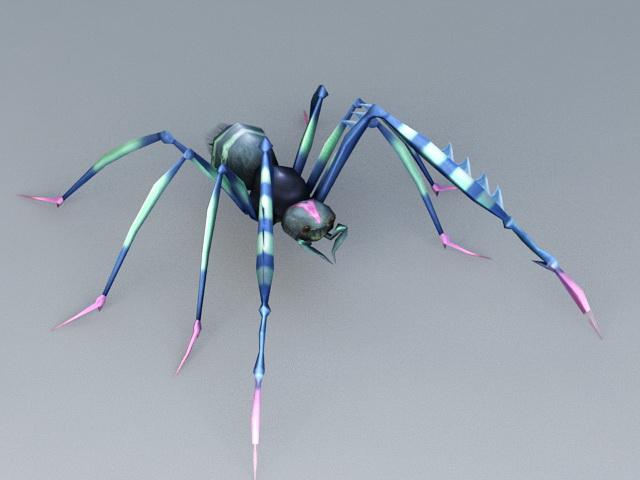 Long Leg Spider 3d model