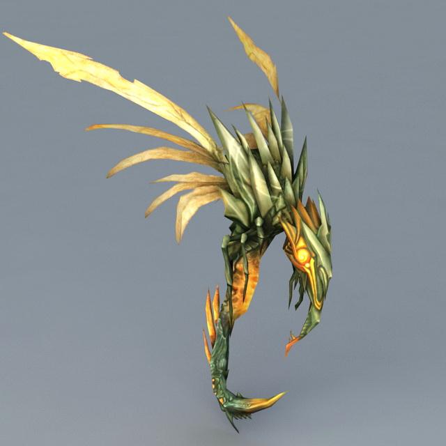Deviate Faerie Dragon 3d model