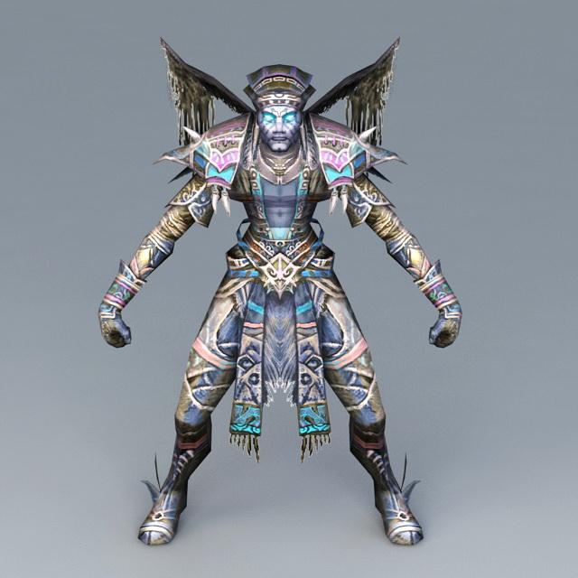 Dark Evil Demon 3d model
