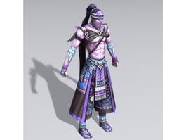 Ancient Assassin 3d model
