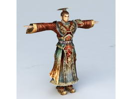 Dynasty Warlord 3d model