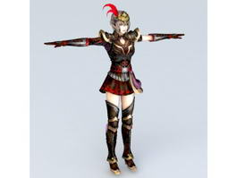 Dynasty Warriors Girl 3d model
