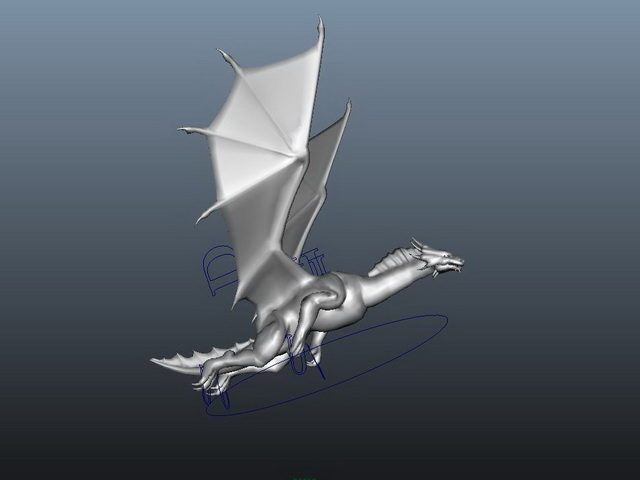 Flying Dragon 3d model