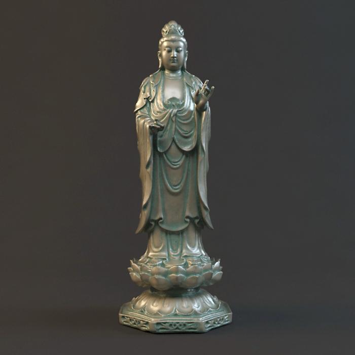 Goddess of Mercy 3d model