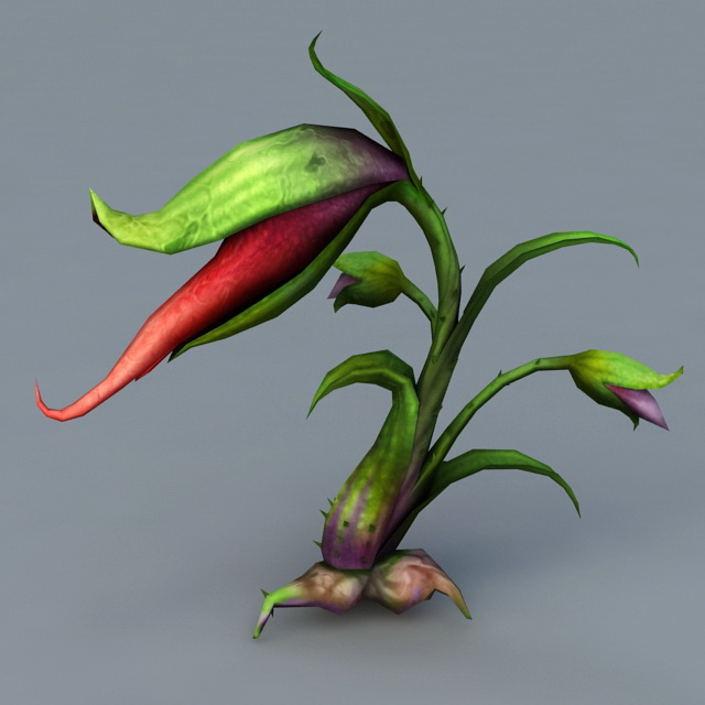 Man-Eating Plant 3d model