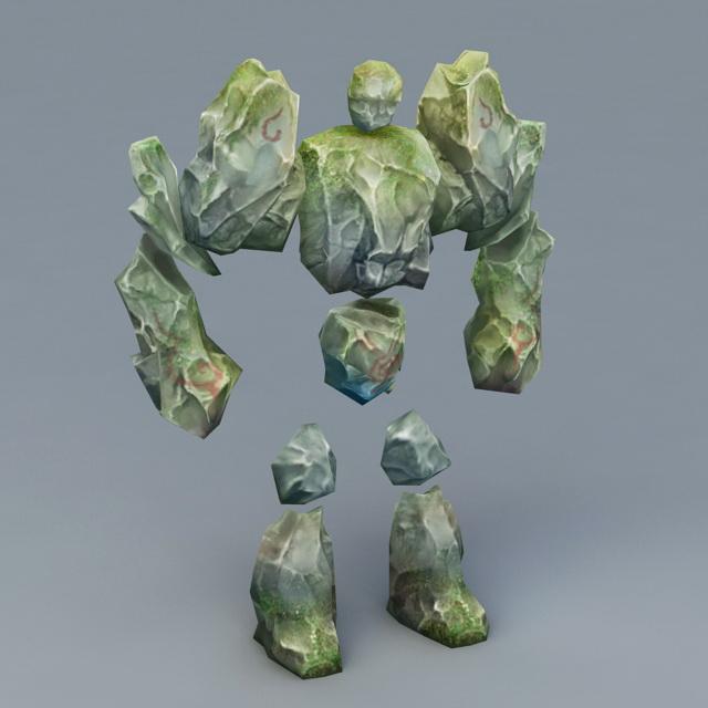 Rock Golem 3d model
