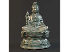 Buddhist Goddess of Mercy 3d model