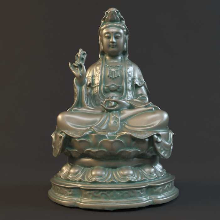 Buddhist Goddess of Mercy 3d model