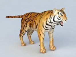Malayan Tiger 3d model