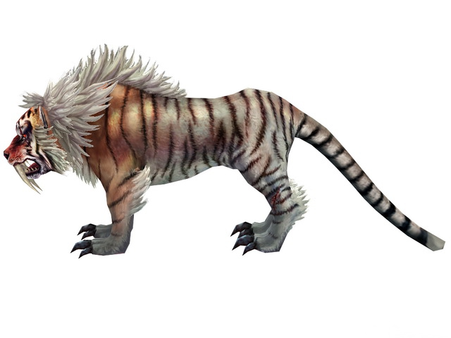 Mythical Tiger 3d Model 3ds Max Files Free Download