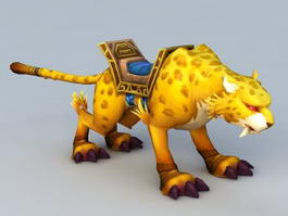 Jaguar Mount 3d model