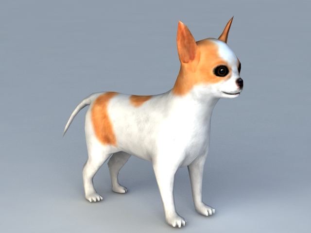 Puppy Dog 3d Model 3ds Max Files Free Download Modeling 40074 On