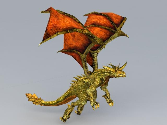Inferno Drake 3d model