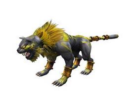 Fantasy Tiger Beast 3d model