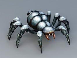 Snow Spider 3d model