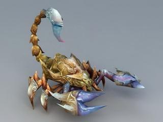 Scorpion Monster 3d model