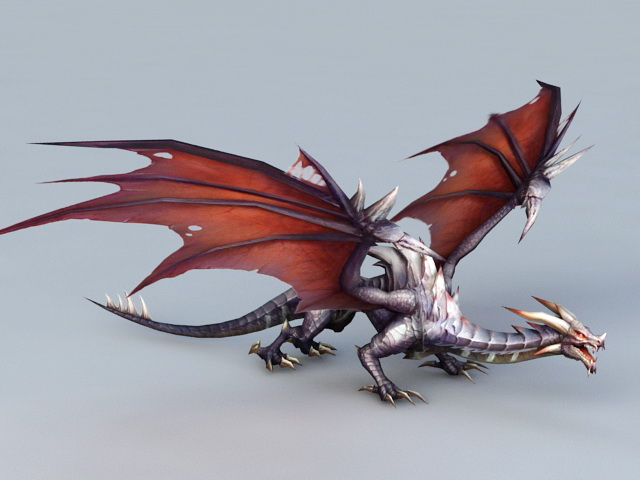 Drake Dragon Creature 3d model