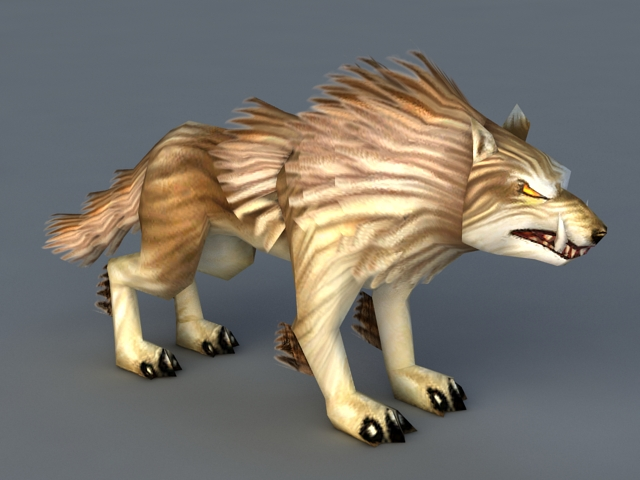 Red Wolf 3d model