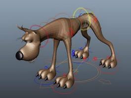 Great Dane 3d model