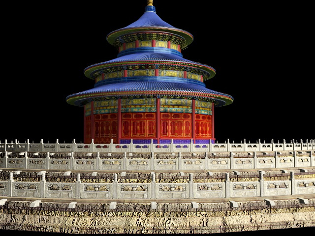 Hall of Prayer for Good Harvests Beijing 3d model