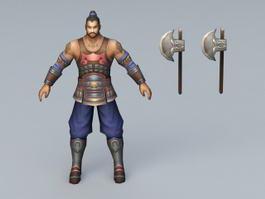 Axe Man Soldier 3d model