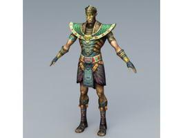 Mummy Soldier 3d model