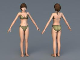 Korin Bikini 3d model