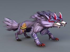 Two Headed Wolf 3d model