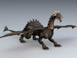 Black Dragon 3d model