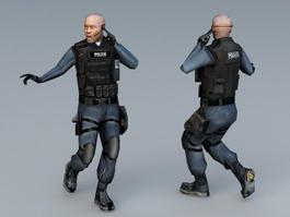 SWAT Special Agent 3d model