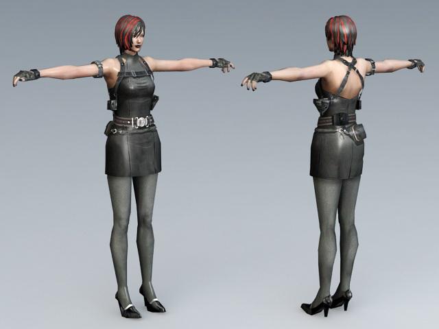 Resident Evil Ada Wong 3d model