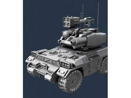 Future Army Combat Vehicle 3d model