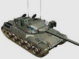 AMX-30 Tank 3d model