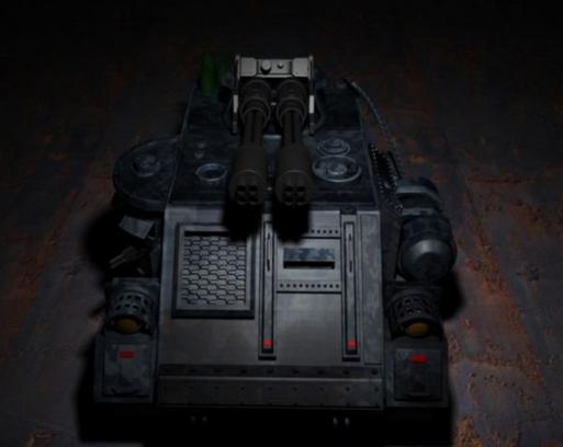 Future Armored Combat Vehicle 3d model