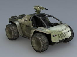 Battlefield 2142 Vehicle 3d model